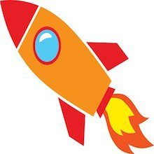 84790149-orange-rocket-icon220